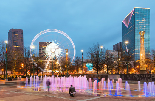 Centennial Olympic Park parking | City of Atlanta GA Parking